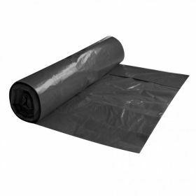 Sacs poubelle LDPE sur roul. 120L, noir, 80µm