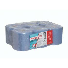 Wypall L10 essuyeurs, rouleaux (525 ess.) bleu, 1-pli
