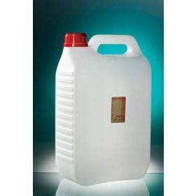 Jerrycan 5000ml PEHD  avec thiosulfate de sodium 20mg/l, stérile, cape à vis inviolable