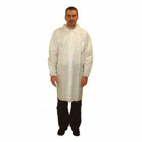 Blouse PE/non-woven XL sans poches + pression