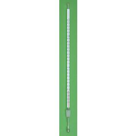 Thermomètre liquide rouge 350mm -10°C...+150°C:0.5 + NS 14,5/23