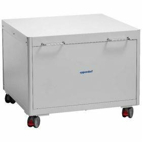 Table mobile pour rangement sous banc (design haut)