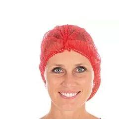 Filet à cheveux ECO clipclap D50mm non tissé - rouge