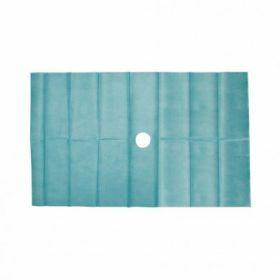 Drap stérile 45x75cm2lgs S/1 - avec ouverture de 5cm