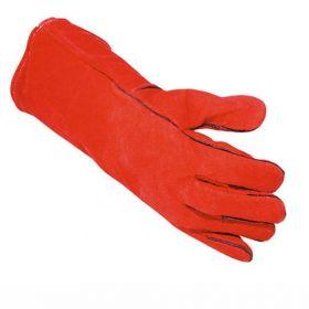 Gant de soudage rouge - taille unique XL