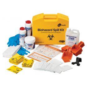 Biohazard kit de déversement Multi 25x à base de chlore