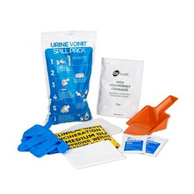 Kit de déversement Urine et Vomissure