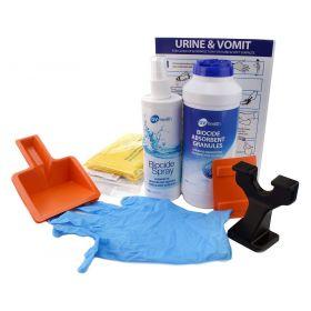 Recharge pour kit de déversement d'urine et de vomissure