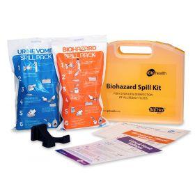 Kit de déversement de fluides corporels (Mini / 2 Pacqquets)