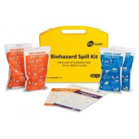 Kit de déversement de fluides corporels (Standard / 4 Paquets)