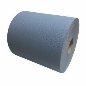 Papier de nettoyage - bleu - cellulose - 2pli 26cmx190m