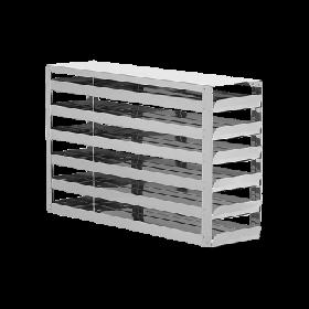 Liebherr Système de rangement en acier inoxydable avec tiroirs 6x4
