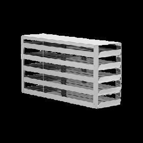 Liebherr Système de rangement en acier inoxydable avec tiroirs 5x4