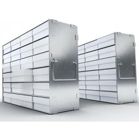 Liebherr Système de stockage en acier inoxydable 5x4 + cryoboxes