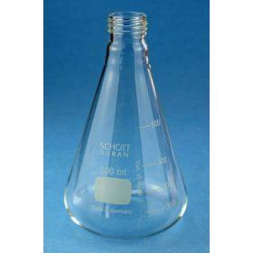 Duran® Fiole Erlenmeyer ISO 1773 avec filetage sans capuchon PBT