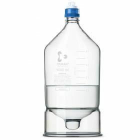 Flacon HPLC Duran avec reservoir conique - GL45