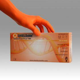 SHIELD Scientific - SHIELDskin™ ORANGE NITRILE™ 260 gants