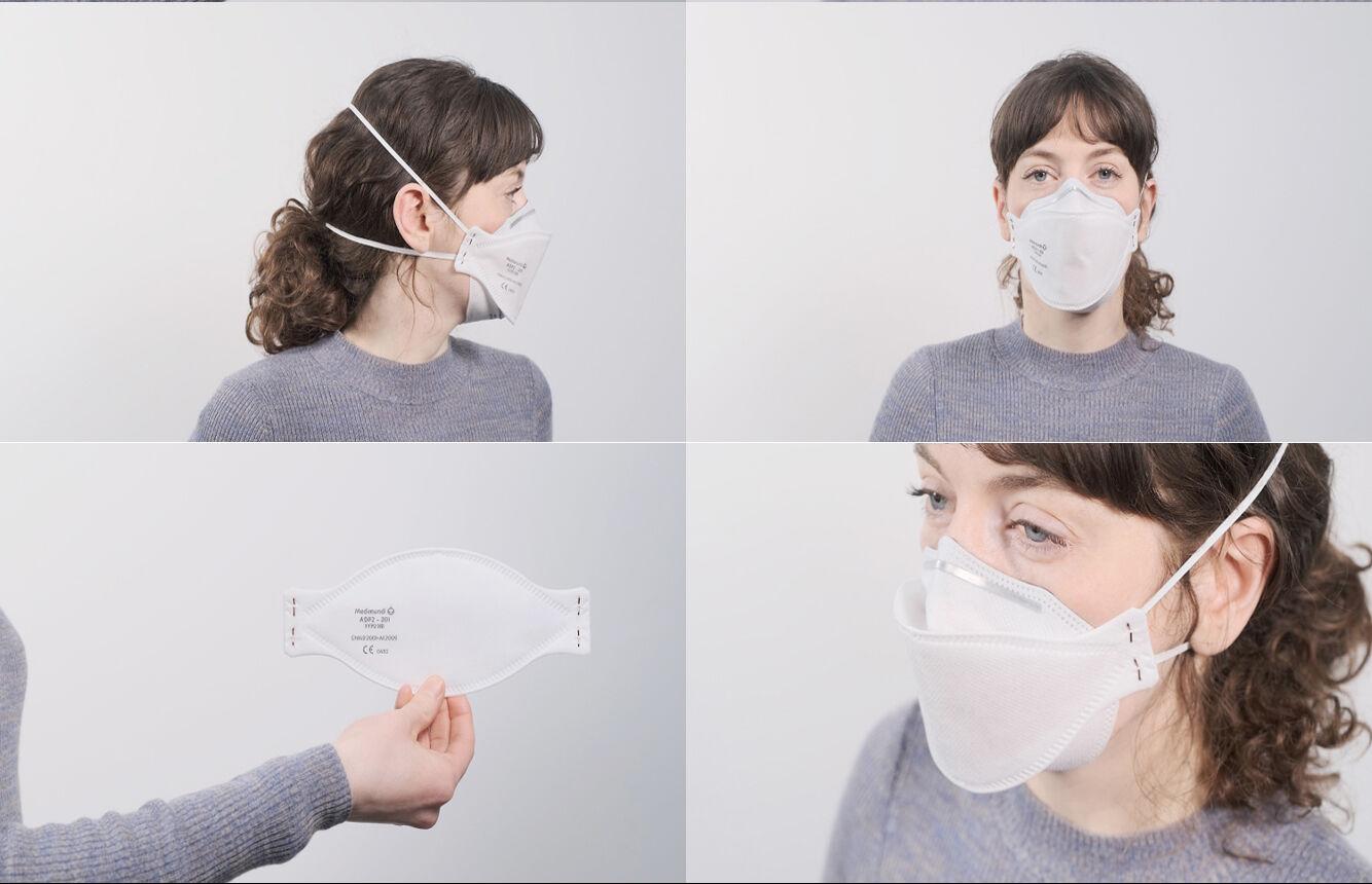 La référence du masque buccal de Medimundi : ADF2-2002NR (FFP2)